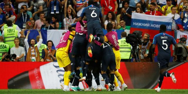 La France championne du monde, les Bleus en état de grâce - lejdd.fr