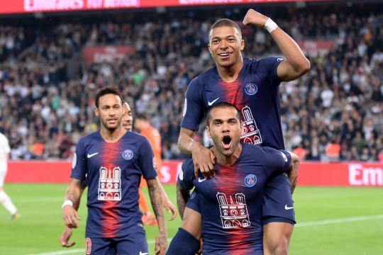 Le PSG fête son titre avec un triplé de Mbappé et le retour de ... - lefigaro.fr