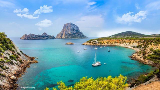 Ibiza, party island and rural charm. [Image Pixabay]