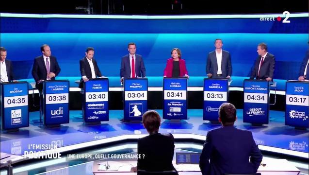 Débat européennes : cacophonie sur les lobbys, Loiseau se prend ... - dailymotion.com