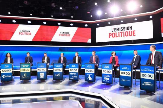 Le premier débat des européennes vire à la cacophonie - lefigaro.fr