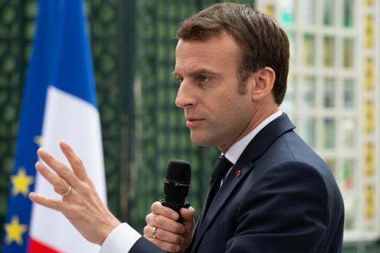 Conférence de presse : une première pour Macron, qui renoue avec ... - rtl.fr