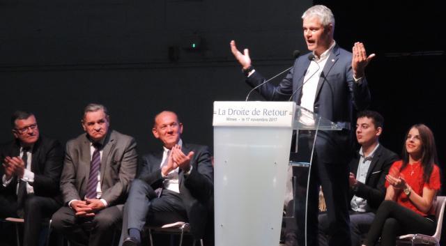 LES RÉPUBLICAINS Wauquiez, Bellamy, Proust… en meeting à Nîmes ... - objectifgard.com