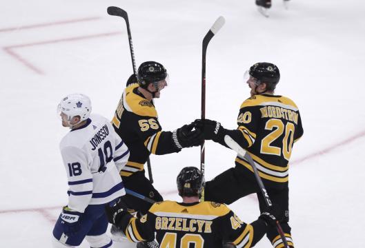 La 4ta línea de Boston acabó con los Leafs en el juego decisivo. www.ctvnews.ca