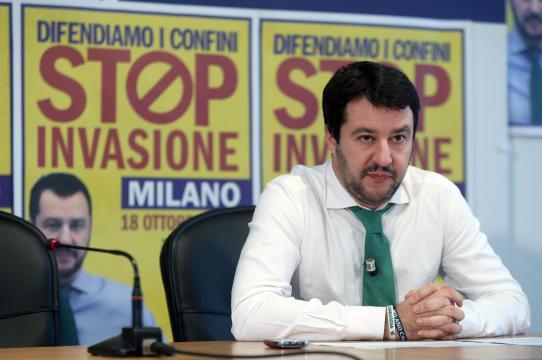 Salvini immigrazione irregolare in calo