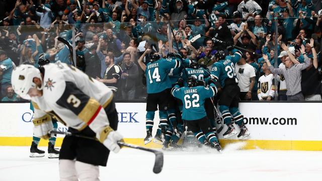 Vegas vs Sharks será para siempre una serie para el recuerdo. www.nbcsports.com