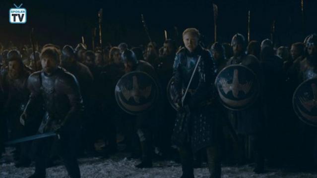 Brienne e Jaime pronti a morire fianco a fianco