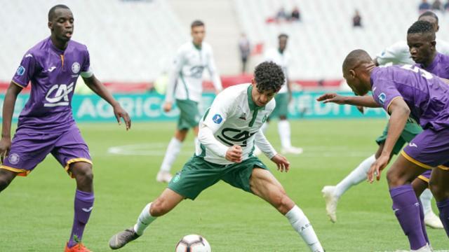 Gambardella - Toulouse-ASSE (0-2) : le trophée pour les Verts, 21 ... - goal.com