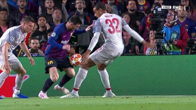 Barça-Liverpool: la main litigieuse et non sifflée de Matip devant ... - actudaily.com