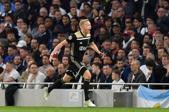 Tottenham-Ajax : Amsterdam s'impose et prend une option pour la finale - rtl.fr