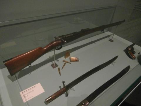 El fusil Maúser, la calidad de este arma permitió la defensa de los sitiados frente a fuerzas superiores