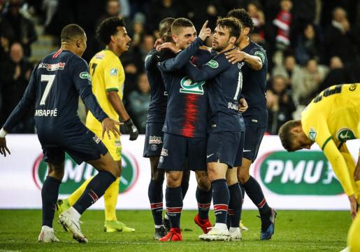Coupe de France : avec sa victoire sur Nantes, le PSG fonce défier Rennes en finale