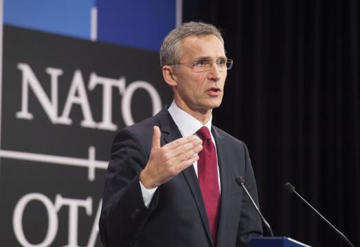 Il segretario generale Nato Jens Stoltenberg