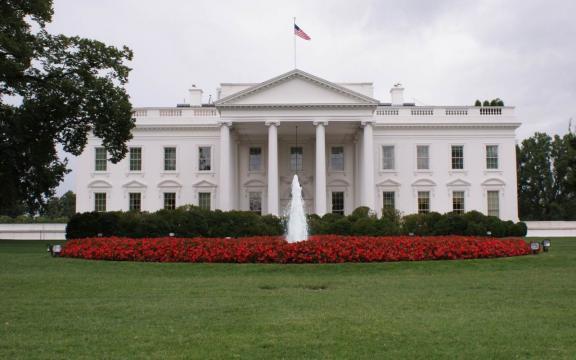 La Casa Bianca, luogo di residenza del presidente degli Stati Uniti d'America
