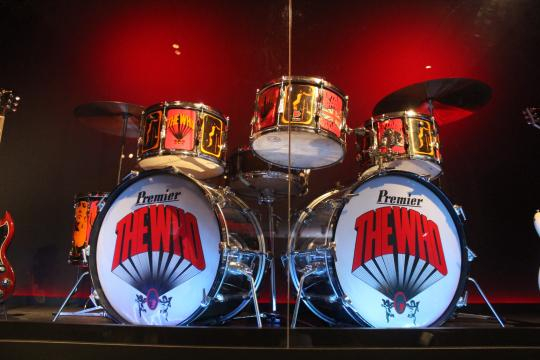 Play It Loud: Instruments of Rock & Roll/drums/photo via Tracey Fitzpatrick