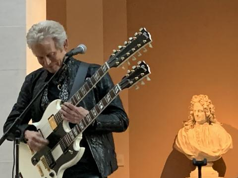 Play It Loud: Instruments of Rock & Roll/Eagles's Don Felder live/photo via Tracey Fitzpatrick