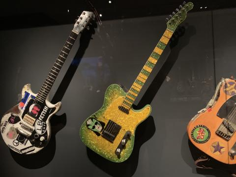 Play It Loud: Instruments of Rock & Roll/photo via Tracey Fitzpatrick