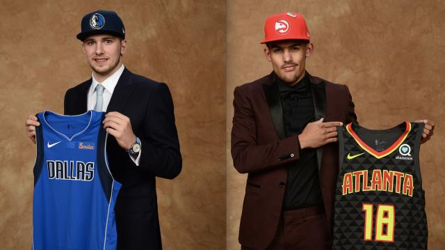 NBA draft: Luka Doncic, Trae Young now linked forever - yahoo.com