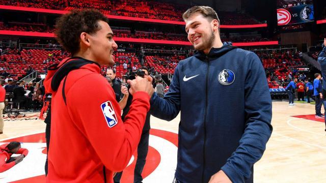 Rookie Ladder: Doncic vs Young | NBA.com - nba.com