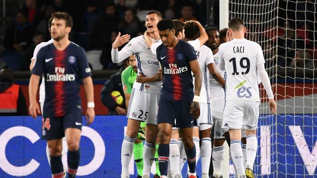 PSG-Strasbourg 2-2, Paris lâche des points et manque d'assurer le ... - goal.com