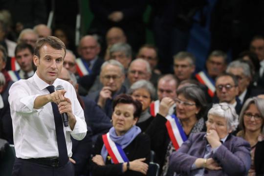 Grand débat national : Macron ouvert sur les 80 km/h et les ... - lefigaro.fr