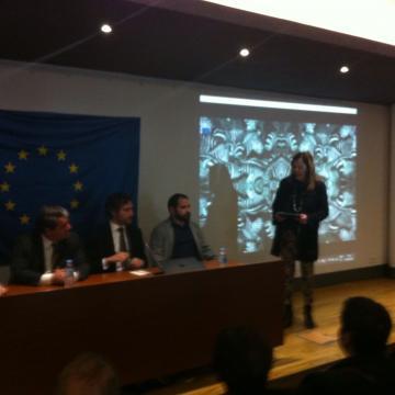 Abertura da Sessão com a Presidente da Associação Maria Araújo
