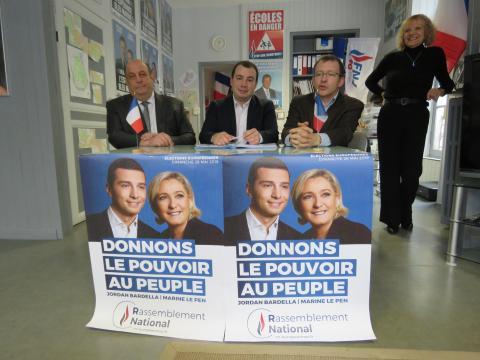 Elections européennes. Le RN veut arriver en tête dans le Lot - actu.fr