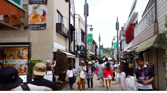 Japanese Street Food Tour KAMAKURA JAPAN. [Image source/TabiEats YouTube video]