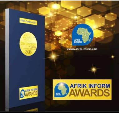 La cérémonie des Afrik Inform Award 2019 (c) Guy Hervé Fongang