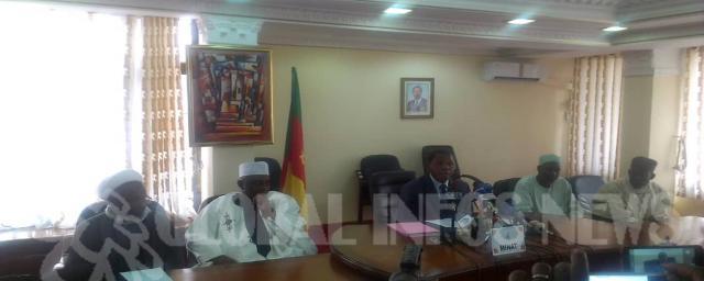 La commission du Hadj 2019 et le Minat Paul Atanga Nji © Global info