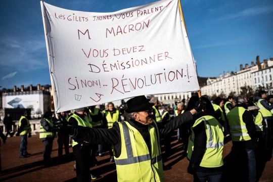 Gilets jaunes» : Macron et Castaner au coeur des critiques - lefigaro.fr