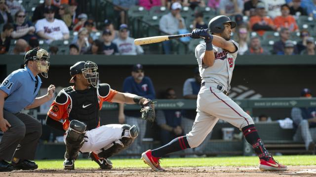 Eddie Rosario es de los bates más subestimados de las Mayores. MLB.com.