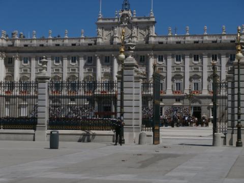 El Patio de la Armeria del Palacio Real fue el escenario elegido para la ceremonia