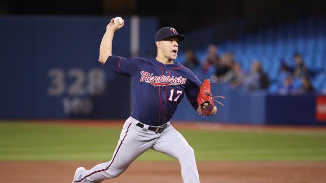 Jose Berríos sigue siendo el pitcher con más potencial de ace en la rotación de Minnesota. MLB.com.