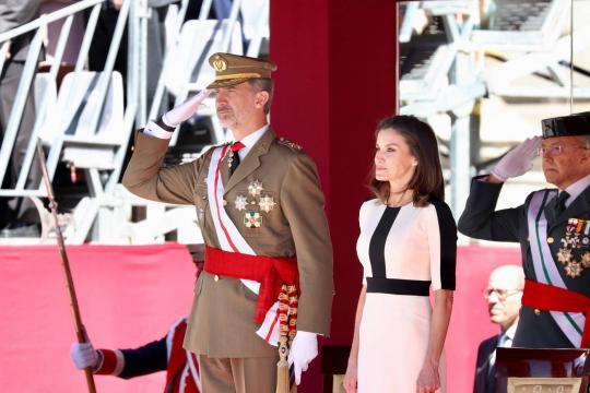 Los reyes presiden el 175º aniversario de la fundación de la Guardía Civil