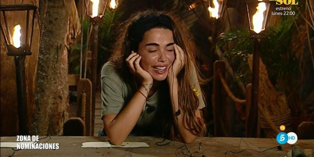 Violeta, llorando en 'Supervivientes 2019' al no sabe si está ... - bekia.es