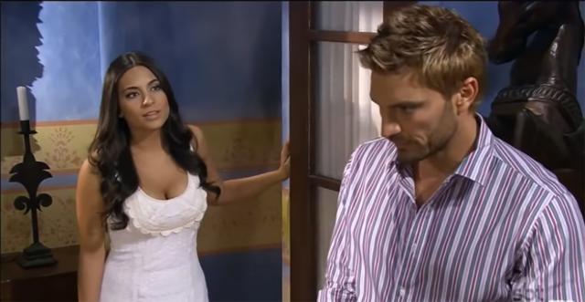 Bruno não desiste de Ana Paula. (Reprodução/Televisa)
