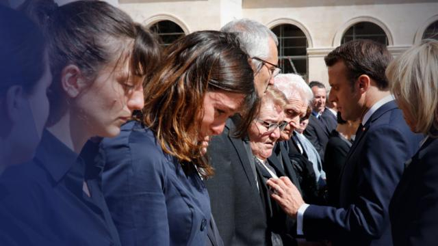 Hommage aux Invalides : La mère d'un des soldats tués n'a pas repoussé Emmanuel Macron
