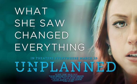 locandina film Unplanned - da www.unplannedfilm.com
