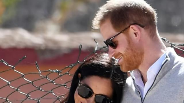 Meghan Markle & Prince Harry's baby's names weren't leaked. [Image source/E! News YouTube video]