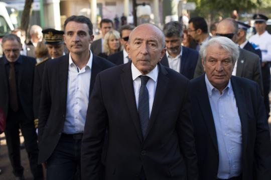 Européennes: malgré l'invitation de Macron, Collomb snobe le ... - lefigaro.fr