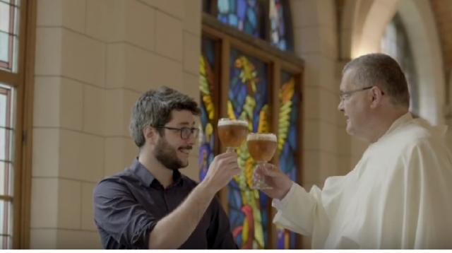 Grimbergen to build microbrewery. [Image source/Grimbergen YouTube video]
