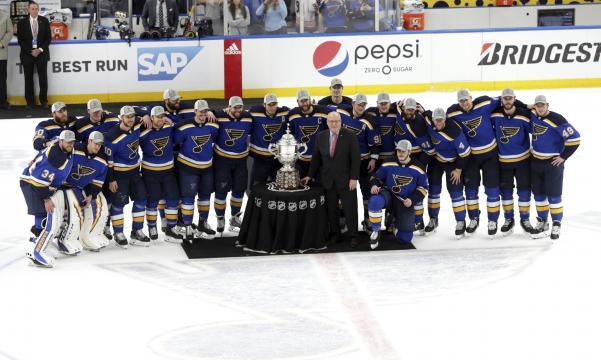 Los Blues por fin llegan de nueva cuenta a una final por la Stanley Cup. www.kspr.com
