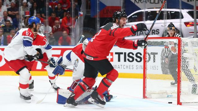 Canadá fue inteligente y goleó 5-1 a los checos para pasar a otra final más. www.TSN - tsn.ca