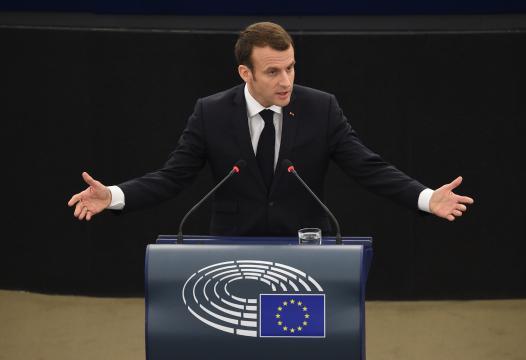 Emmanuel Macron défend l'idée d'une