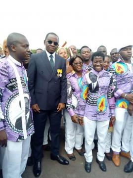 Le Maire de la Commune d'Arrondissement de Yaoundé 6 © Yoki Onana Jacques