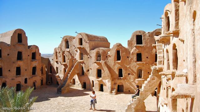 Ksar Ouled Soltane - 15th-century granary and