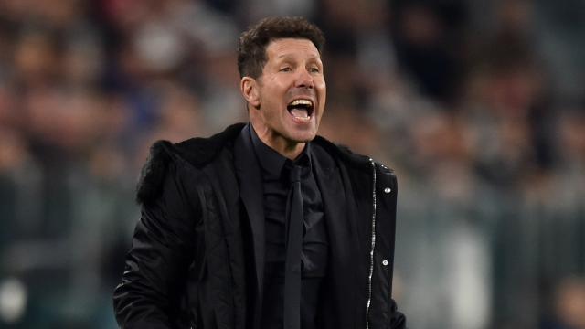 Simeone presents united Atleti after Savic-Ortega bust-up reports - foxsportsasia.com
