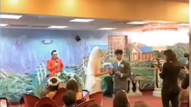 Joe Jonas & Sophie Turner GET MARRIED in Vegas by