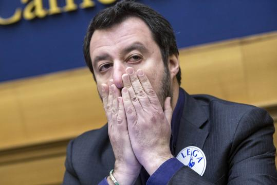 Salvini evita la sfida di Calenda